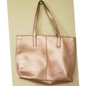 Mark & Graham Bags - Mark & Graham Leather Gold Tote Bag